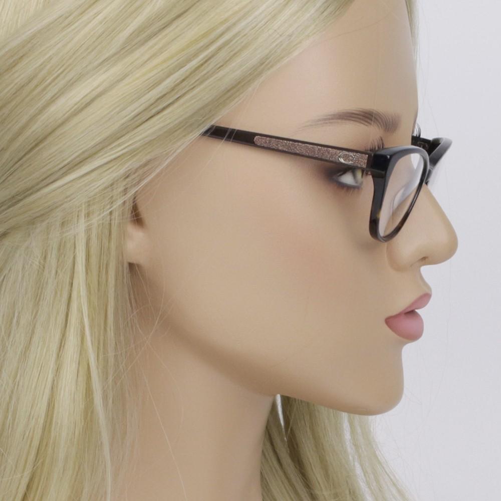 ... Óculos de Grau Guess Gatinho Acetato Tartatuga Aro Fechado Sem Plaquetas  gu2634 52050 367cc01816