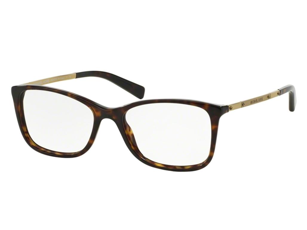 Óculos de Grau Michael Kors Quadrado Acetato Tartaruga Aro Fechado Sem  Plaquetas 0mk4016 300653 25b038b063