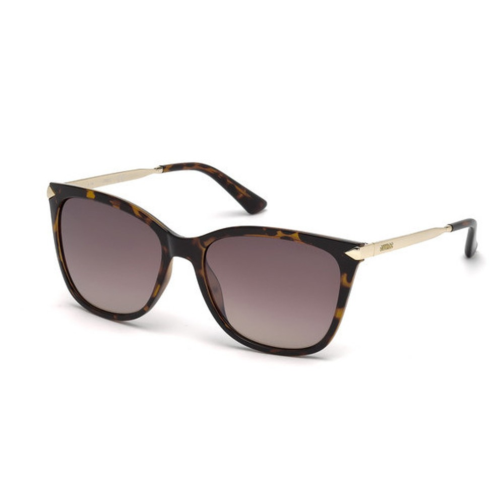 4db8f711501fc Óculos de Sol Guess Redondo Armação Acetato Tartaruga Lente Marrom Degradê  Sem Plaquetas gu7483 5652g ...