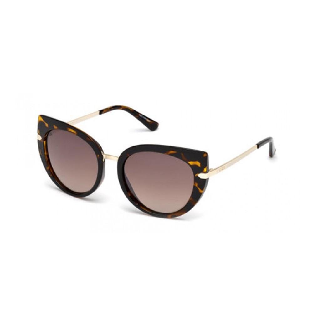 9dadb1eb03620 Óculos de Sol Guess Gatinho Armação Acetato Tartaruga Lente Marrom Degradê  Sem Plaquetas gu7513 5552f ...