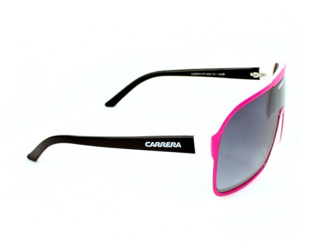 50e8ebf9b59af ... Óculos de Sol Carrera Máscara Armação Acetato Rosa Lente Preta Degradê  Sem Plaquetas 5530