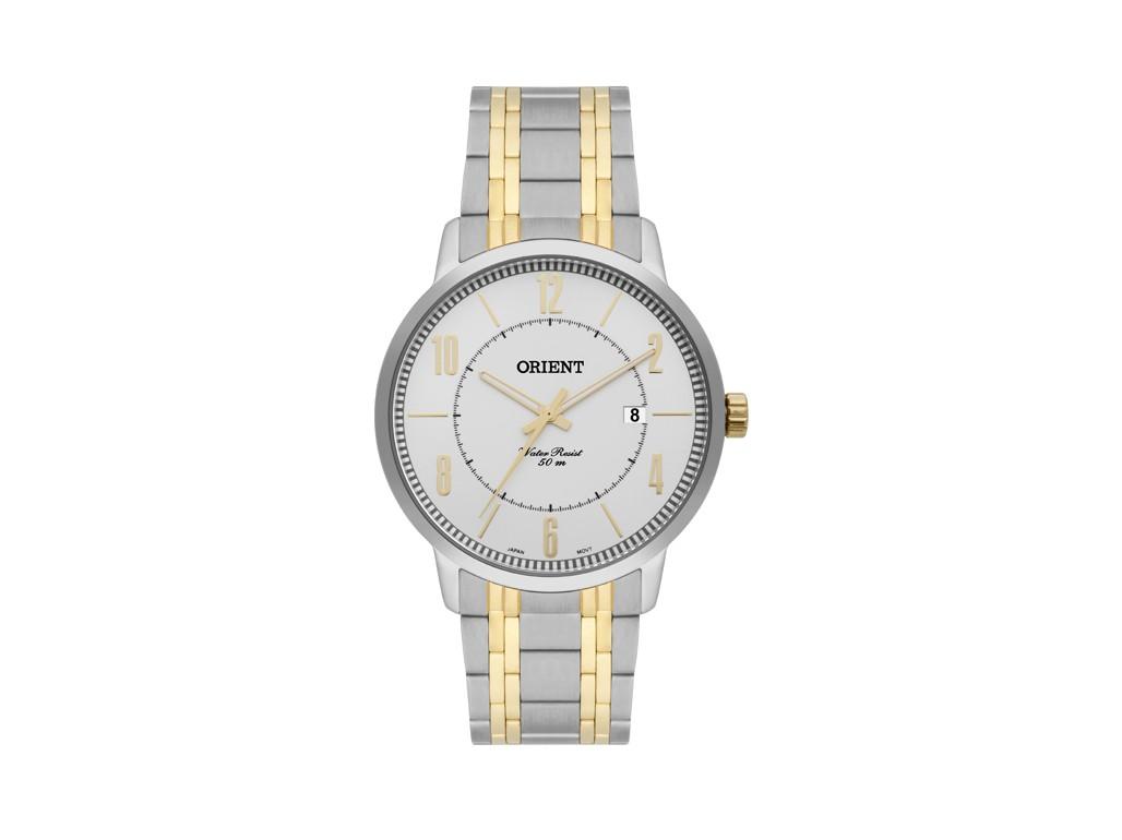 d3f60b7b1 Relógio Orient Prata e Dourado Masculino Authentika Joias