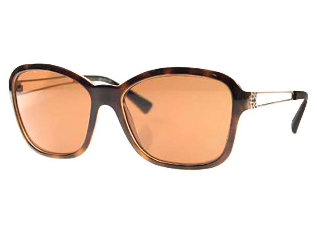 Óculos de Sol Grazi Massafera Quadrado Armação Acetato Tartaruga Lente  Marrom Comum Sem Plaquetas 0gz4006 d445 890250081d