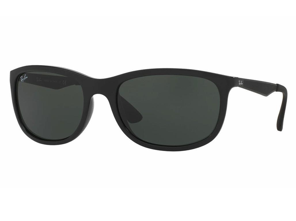 718fdae72ee3b Óculos de Sol Ray-Ban Retangular Armação Acetato Preta Lente Preta Comum Sem  Plaquetas 0rb4267