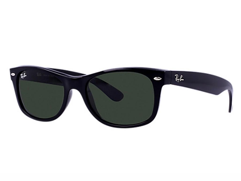 Óculos de Sol Ray-Ban Wayfarer Armação Acetato Preto Lente Preta Polarizada Sem  Plaquetas 0rb2132901 ... 20ef3ecc9c