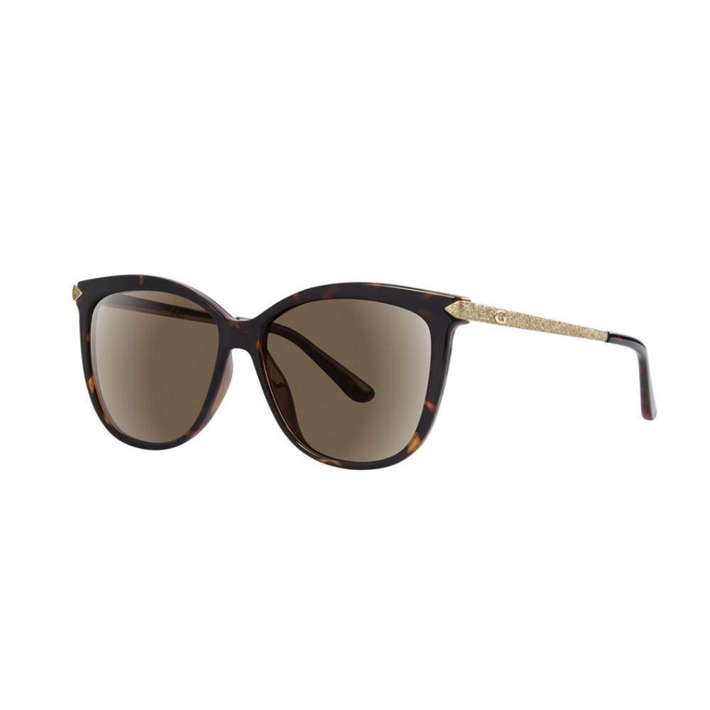 09c1ac3088e9f Óculos de Sol Guess Quadrado Armação Acetato Tartaruga Lente Marrom Degradê  Sem Plaquetas gu7533 5752f ...