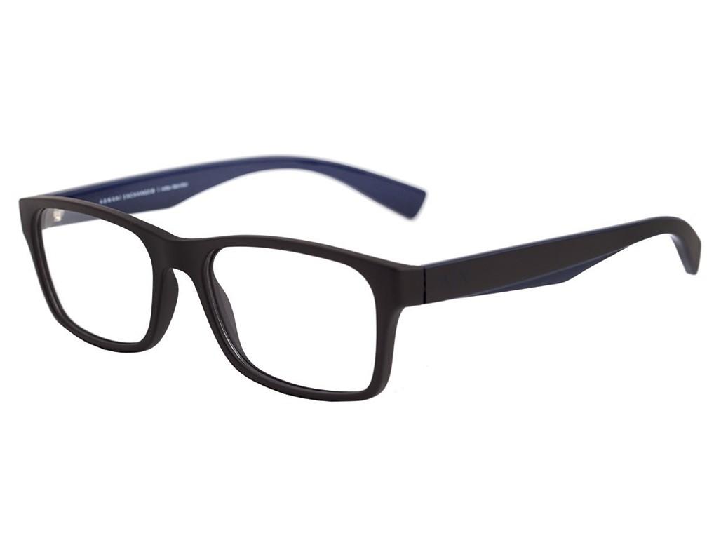 Óculos de Grau Armani Exchange Wayfarer Acetato Marrom Aro Fechado Sem  Plaquetas 0ax3038l 8201 54 6efd56dc5f