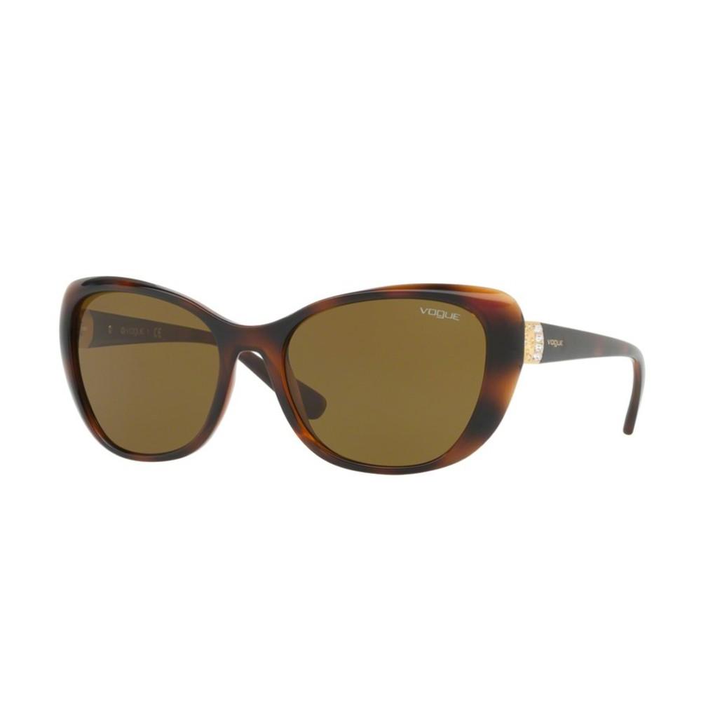 0a9b7e8cffa83 Óculos de Sol Vogue Retangular Armação Acetato Tartaruga Lente Marrom Comum Sem  Plaquetas 0vo5194sb 23867357 ...