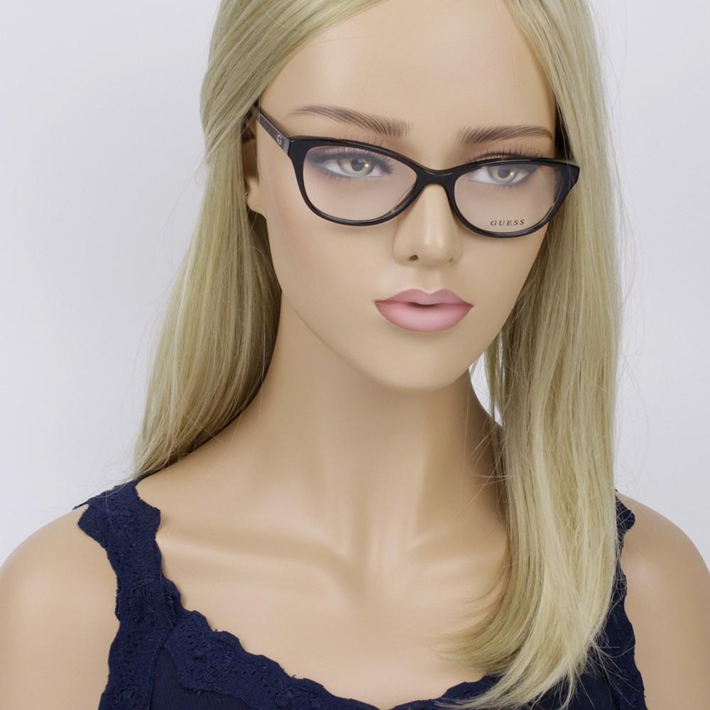 ... Óculos de Grau Guess Gatinho Acetato Tartatuga Aro Fechado Sem Plaquetas  gu2634 52050 ... 6a6a96bf60