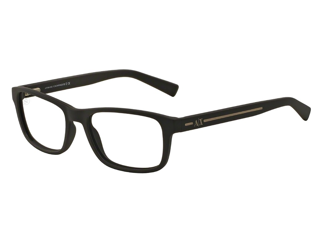 Óculos de Grau Armani Exchange Quadrado Acetato Marrom Aro Fechado Sem  Plaquetas 0ax3021806254 65475f202c