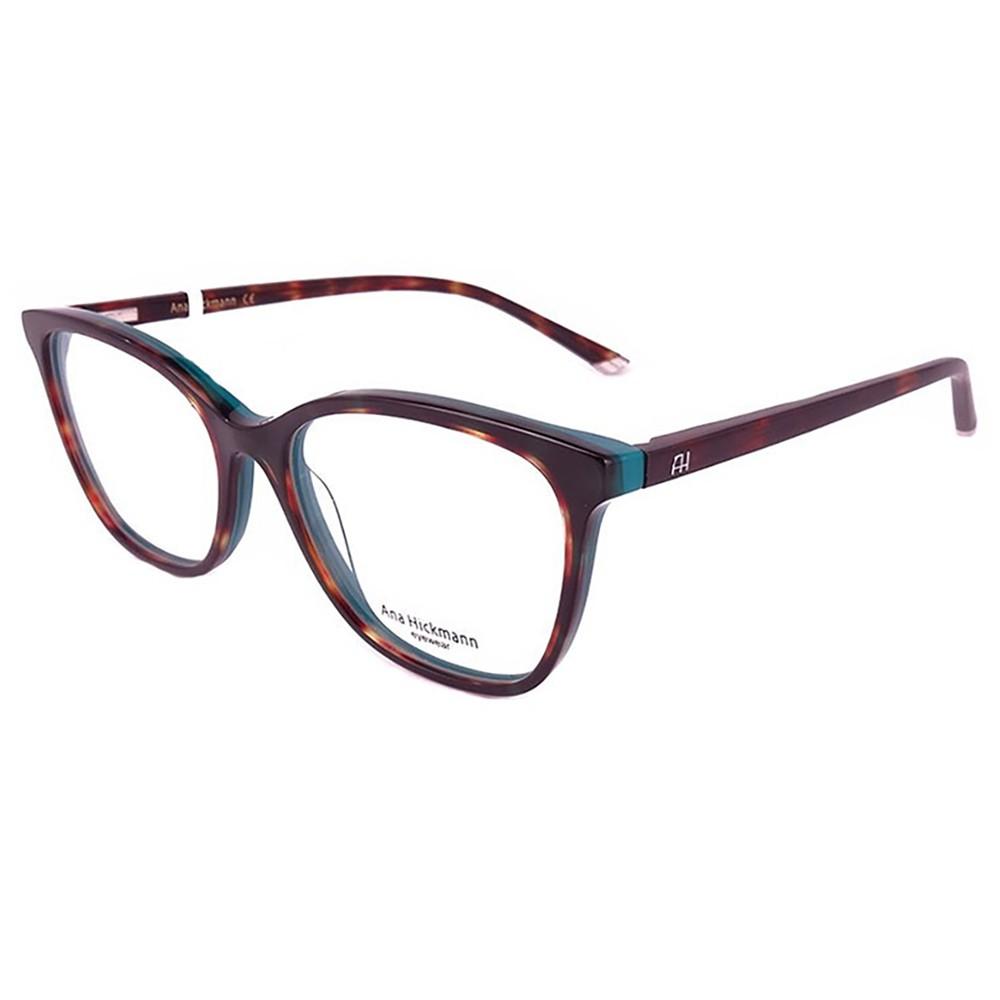 Óculos de Grau Ana Hickmann Gatinho Acetato Preta Aro Fechado Sem Plaquetas  ah6280 g22 ... 678be4cece