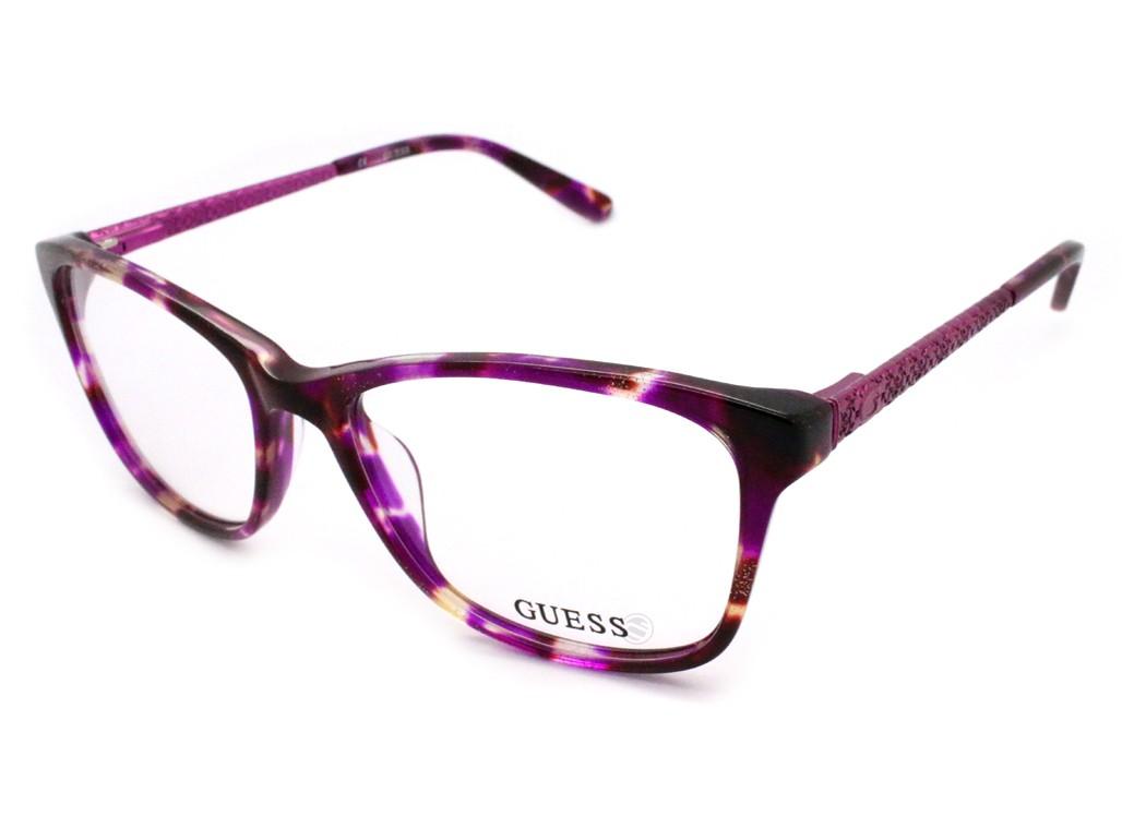 Óculos de Grau Guess Quadrado Acetato Tartaruga Aro Fechado Sem Plaquetas  gu2500 53077 ... f6245656f5
