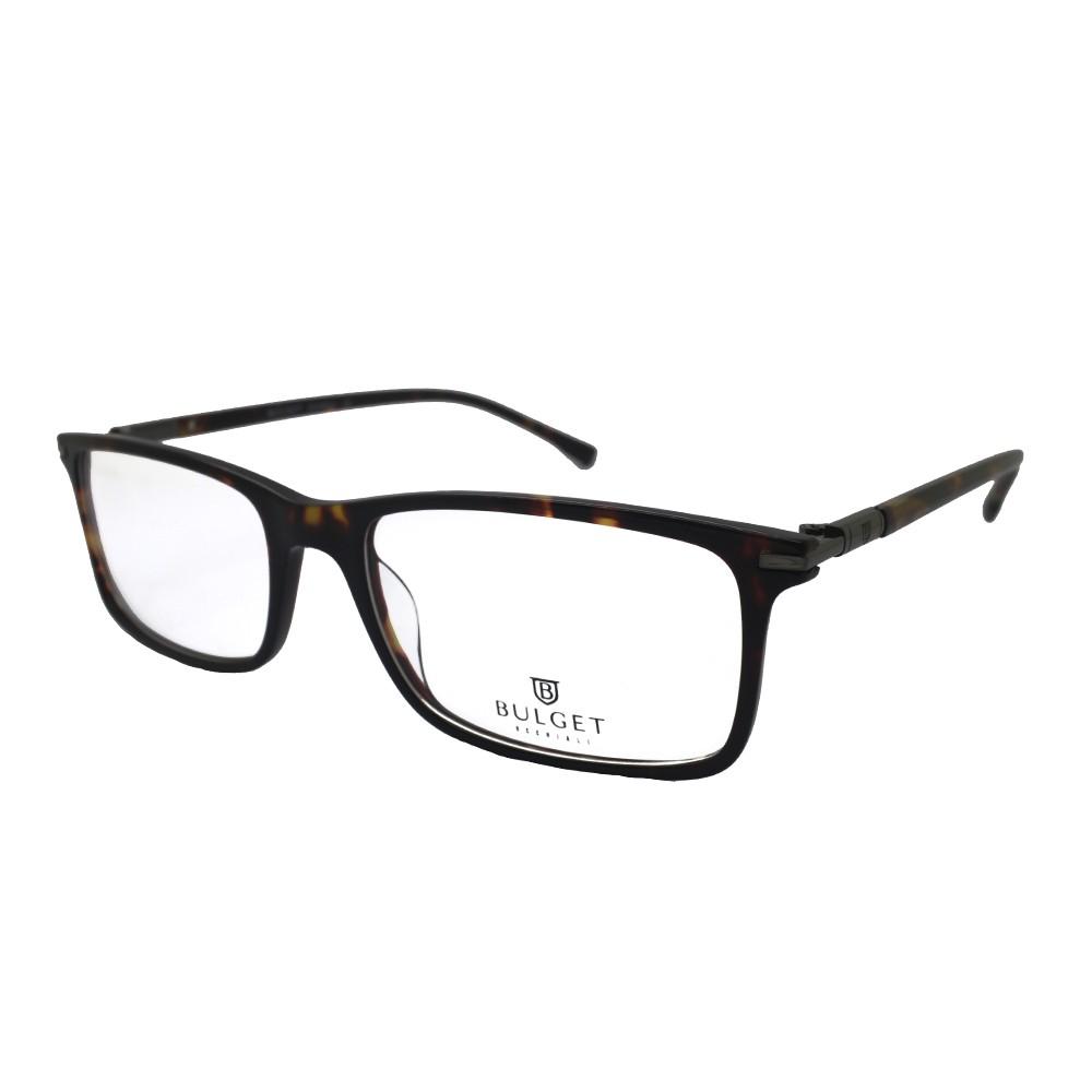 Óculos de Grau Bulget Retangular Acetato Tartaruga Aro Fechado Sem Plaquetas  bg6209 g21 ... a740265c06
