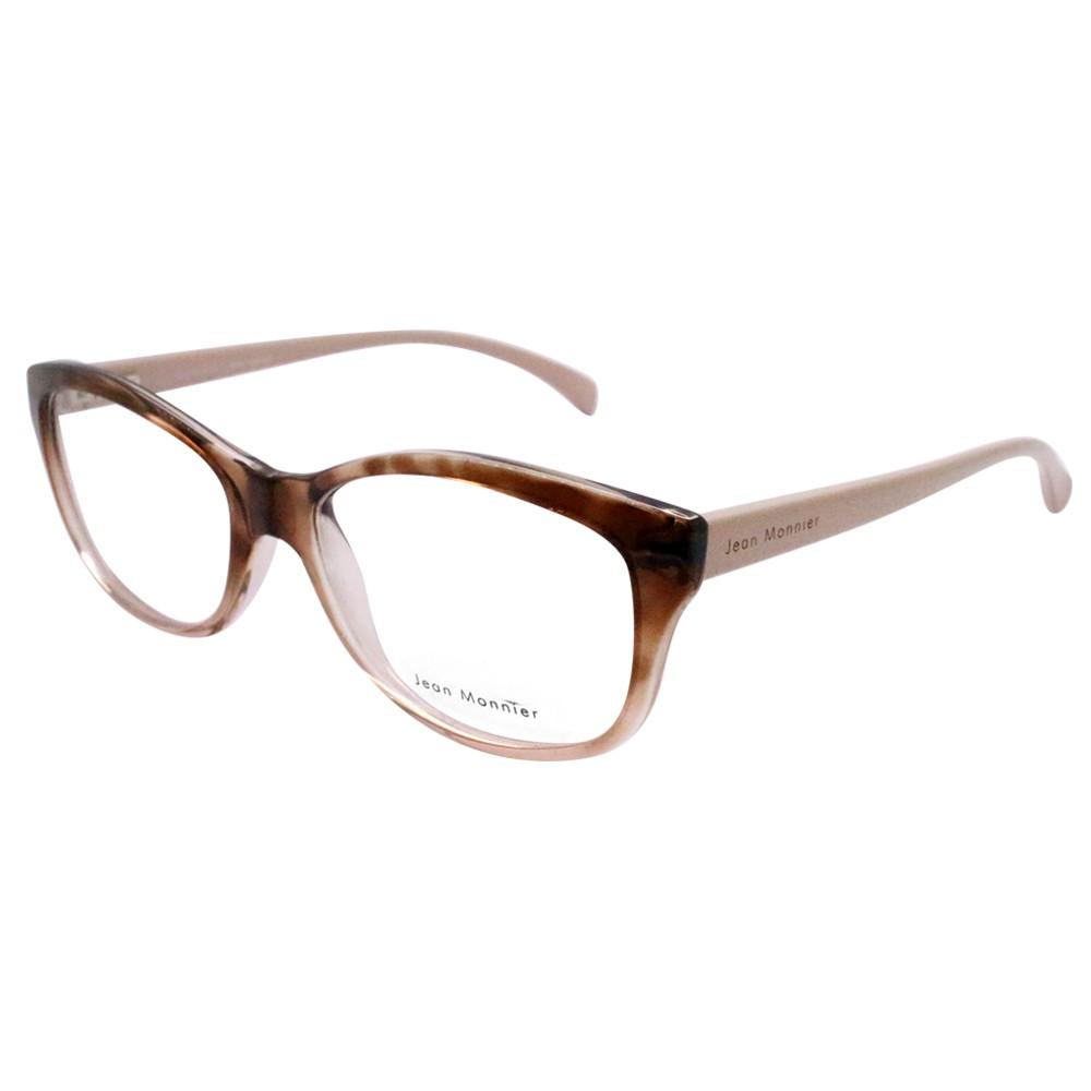 a9171a4134928 Óculos de Grau Jean Monnier Gatinho Acetato Tartaruga Aro Fechado Sem  Plaquetas 0j83148 f336 51 ...