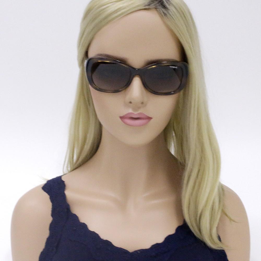 3aab2c4025b11 ... Óculos de Sol Vogue Quadrado Armação Acetato Tartaruga Lente Marrom  Degradê Sem Plaquetas 0vo2943sb w6561355 ...
