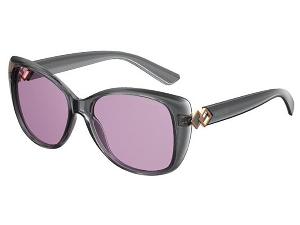 Óculos de Sol Polaroid Preto Lente Vermelha Degrade Feminino ... 5c242d1860