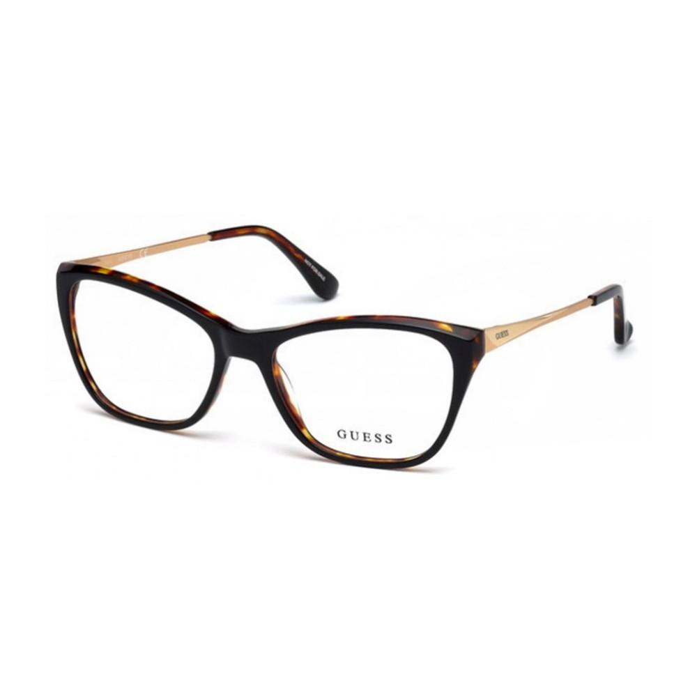 Óculos de Grau Guess Gatinho Acetato Tartaruga Aro Fechado Sem Plaquetas  gu2604 54001 ... 77b5c998a3
