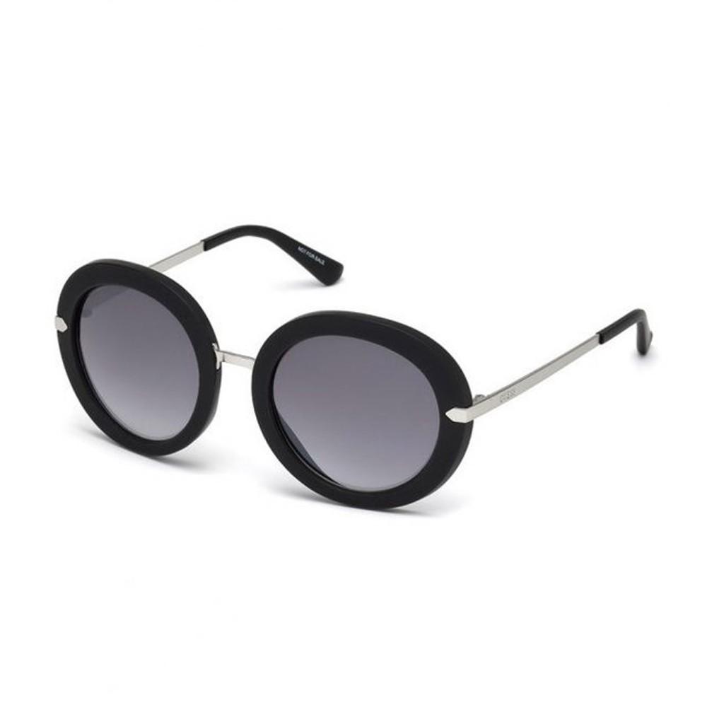f837ff3222f9e Óculos de Sol Guess Redondo Armação Acetato Preta Lente Preta Degradê Sem  Plaquetas gu7514 5201b ...