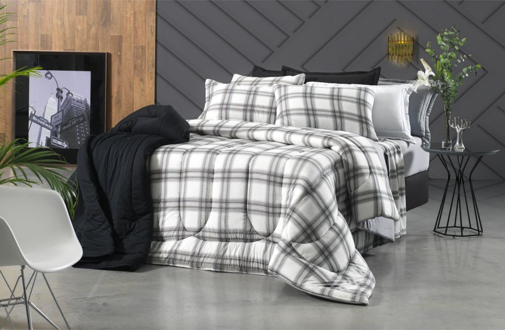 cb25677695 Kit Cobre Leito King Size Extra Oregon 3pçs