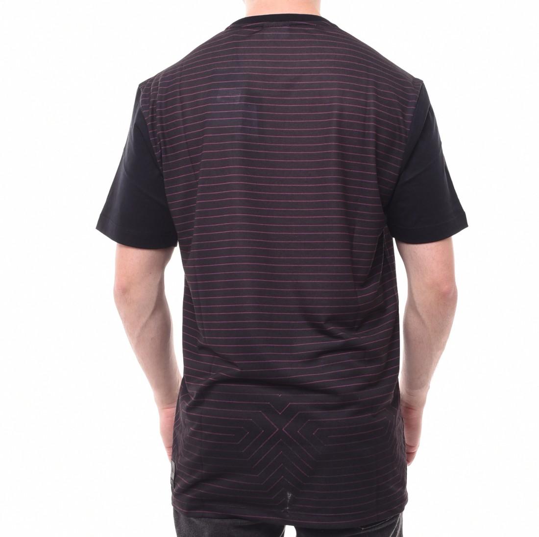 Camiseta MCD Fit Listrada Preto e Rosa - LM Martins - Veste você por ... 26474d4d3f1