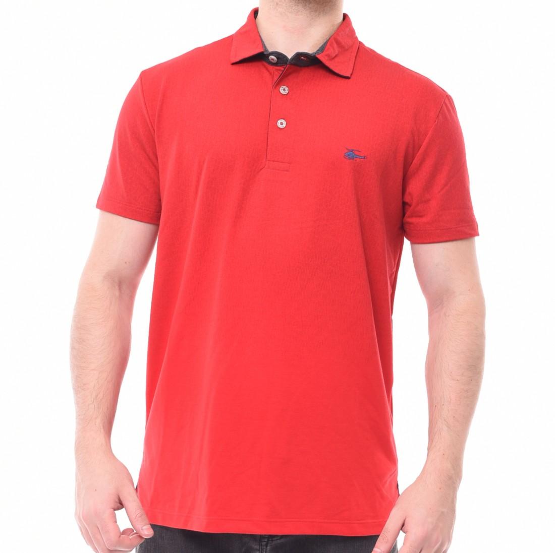 88a6014b3b Camisa Polo Sallo Piquet Degradê Vermelha - LM Martins - Veste você ...