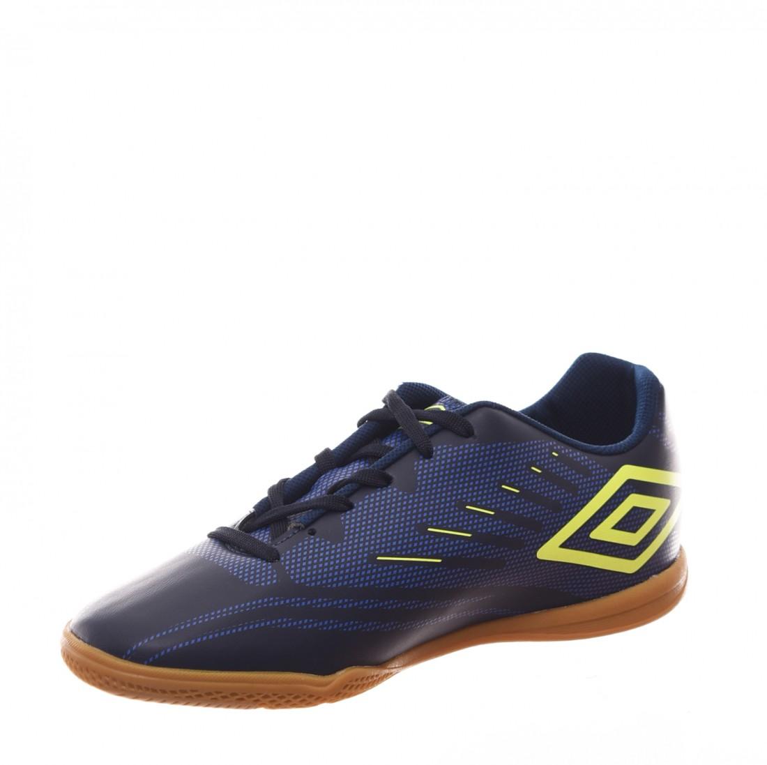 Chuteira Futsal Umbro Speed IV Azul Marinho - LM Martins - Veste ... 5422bfc876f44
