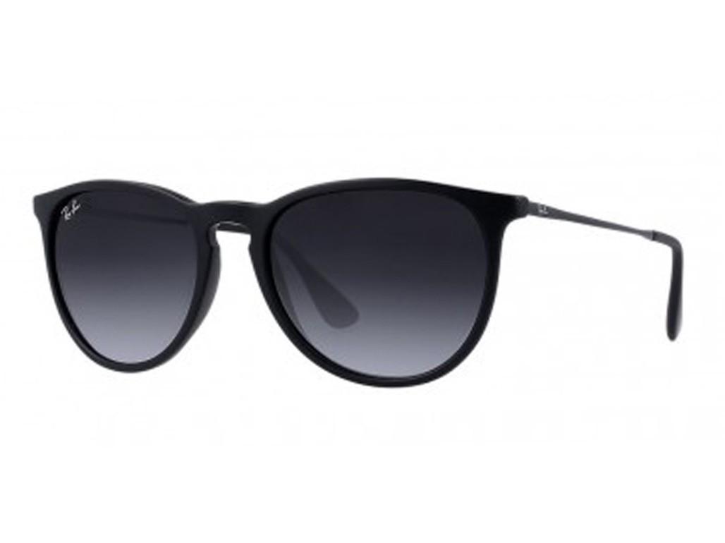 1f467a93b2407 Óculos de Sol Ray-Ban Redondo Armação Acetato Preto Lente Preta Degradê Sem  Plaquetas 0rb4171l