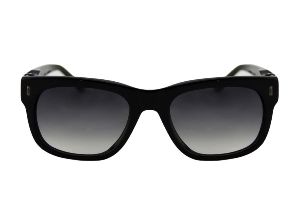 ... Óculos de Sol Champion Quadrado Armação Acetato Preta Lente Preta  Degradê Sem Plaquetas gs00020a ... 84145835a7