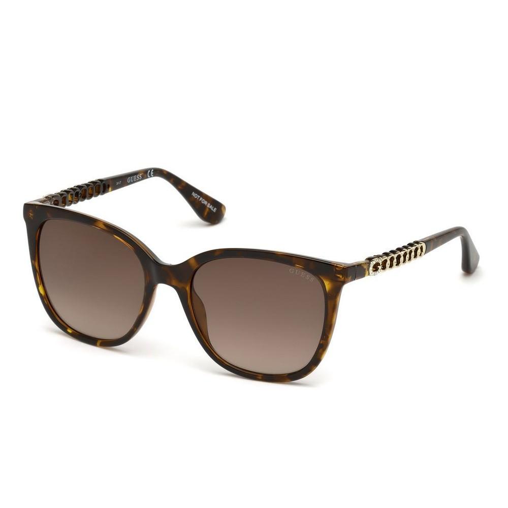 f2944f790bac3 Óculos de Sol Guess Redondo Armação Acetato Tartaruga Lente Marrom Degradê  Sem Plaquetas gu7545-s 5451f ...
