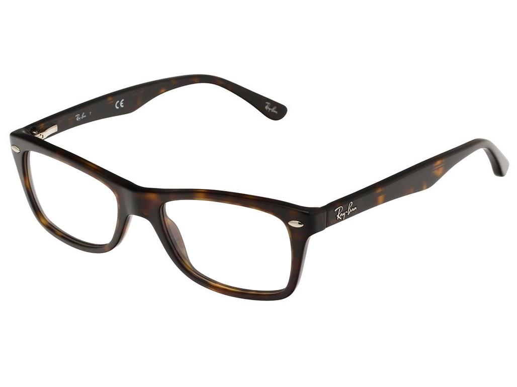 7892adf568098 Óculos de Grau Ray-Ban Quadrado Acetato Tartaruga Aro Fechado Sem Plaquetas  0rx5228201253