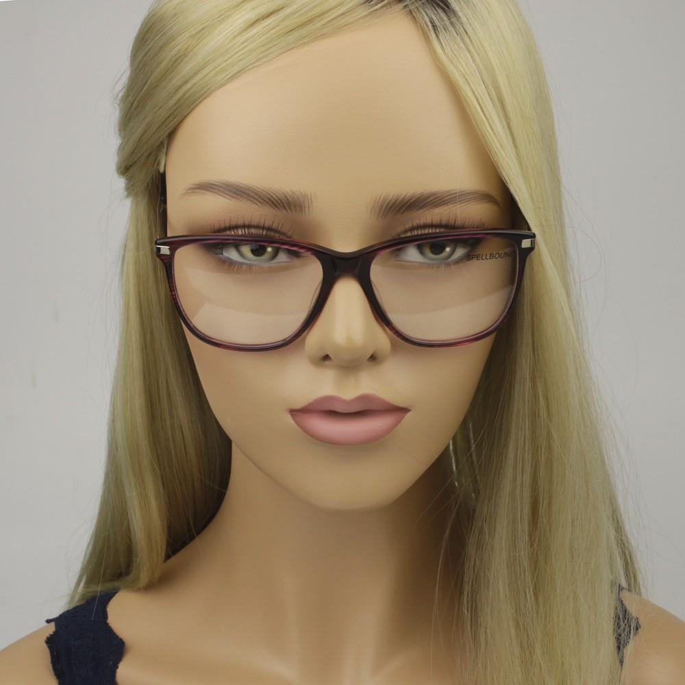 ... Óculos de Grau Spellbound Quadrado Acetato Vermelha Aro Fechado Sem  Plaquetas sb 15716 4 ... 2c5393e90c