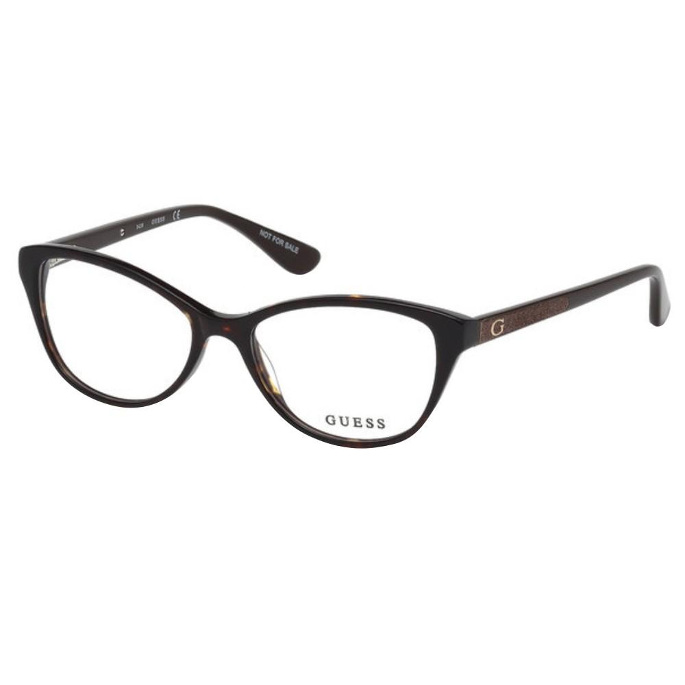 Óculos de Grau Guess Gatinho Acetato Tartatuga Aro Fechado Sem Plaquetas  gu2634 52050 ... 8c8e00fd92