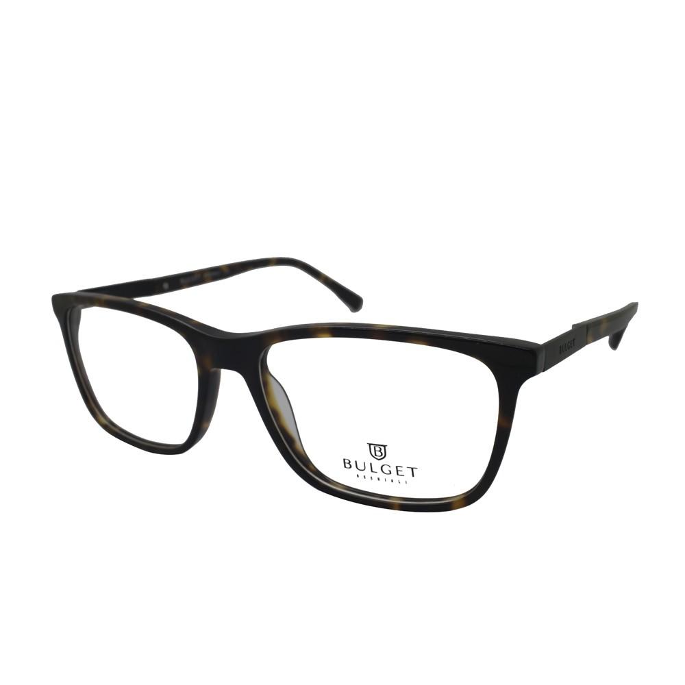 Óculos de Grau Bulget Retangular Acetato Tartaruga Aro Fechado Sem Plaquetas  bg6247 g21 ... 0f23f859ee