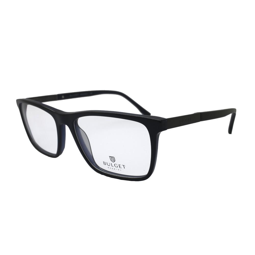 Óculos de Grau Bulget Retangular Acetato Marrom Aro Fechado Sem Plaquetas  bg6245 h03 ... b53e54656a