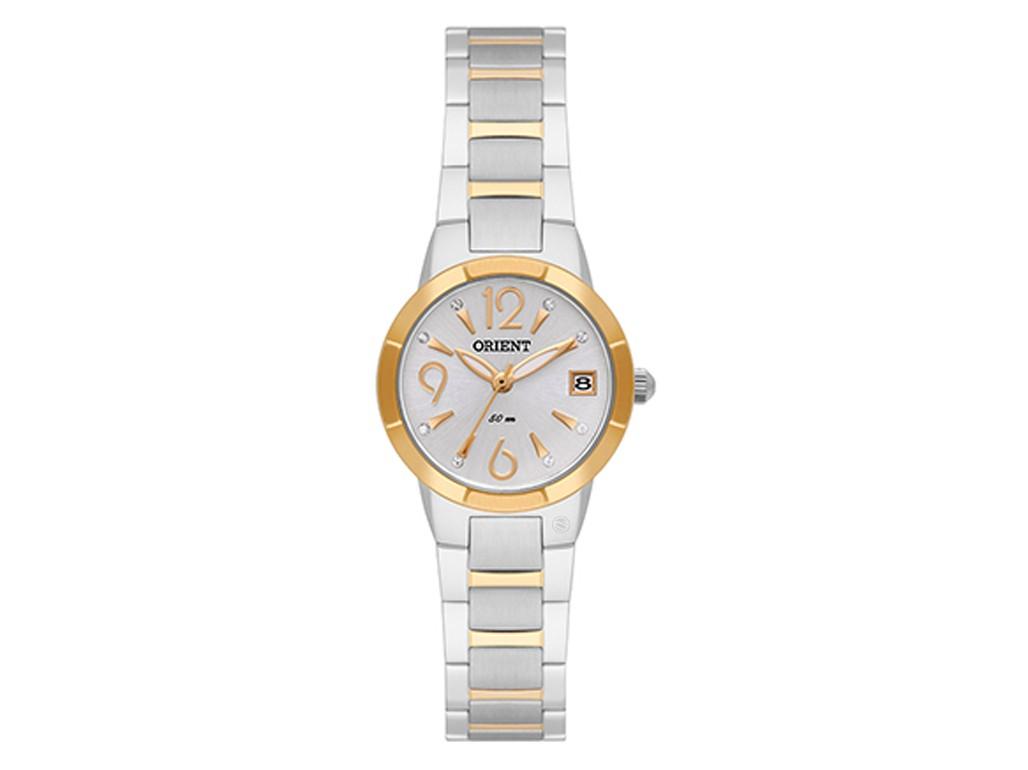 4d37d190df4 Relógio Orient Eternal Dourado e Prata Feminino Authentika Joias
