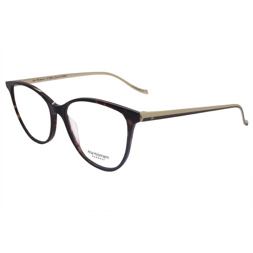 Óculos de Grau Ana Hickmann Gatinho Acetato Bordô Aro Fechado Sem Plaquetas  LONDON I SHINY ... 15460063f2
