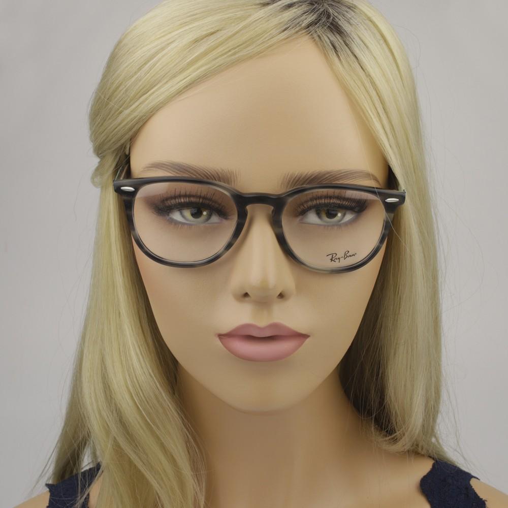 ... Óculos de Grau Ray-Ban Redondo Acetato Tartaruga Aro Fechado Sem  Plaquetas 0rx7159 5800 52 ... 4b50aed702