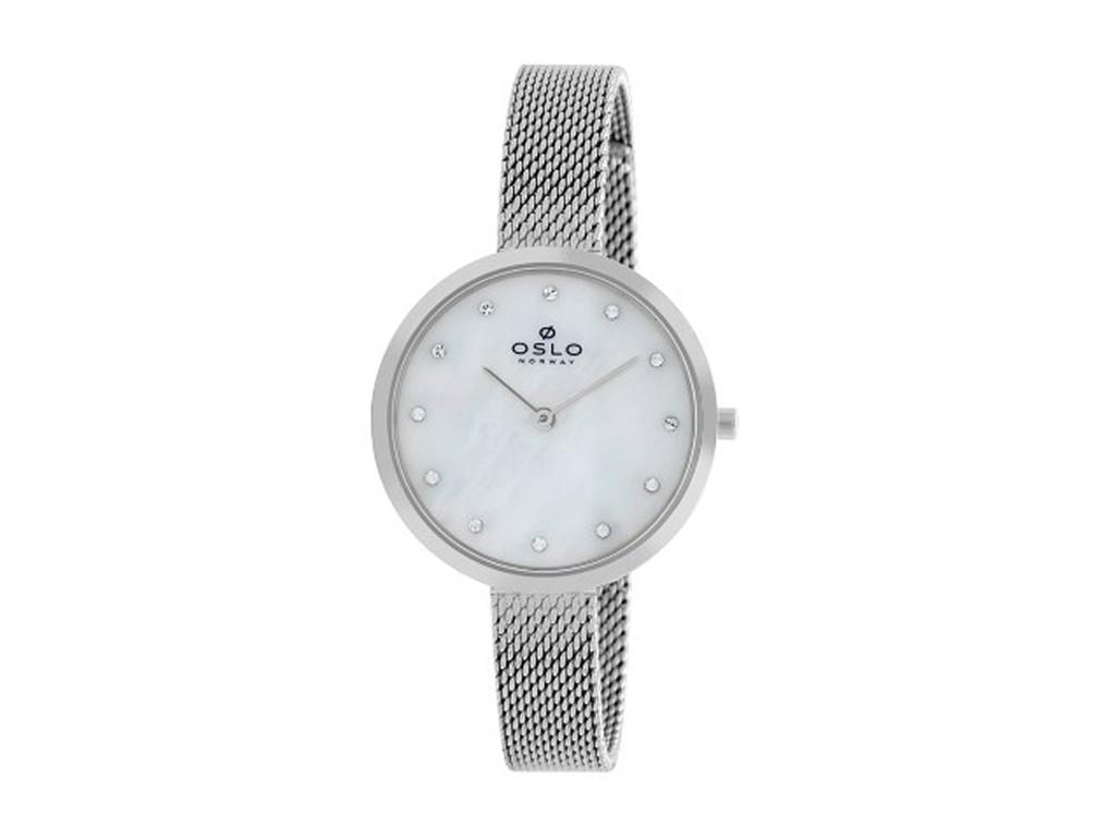 47882bf5307 Relógio Oslo Prata Feminino Authentika Joias