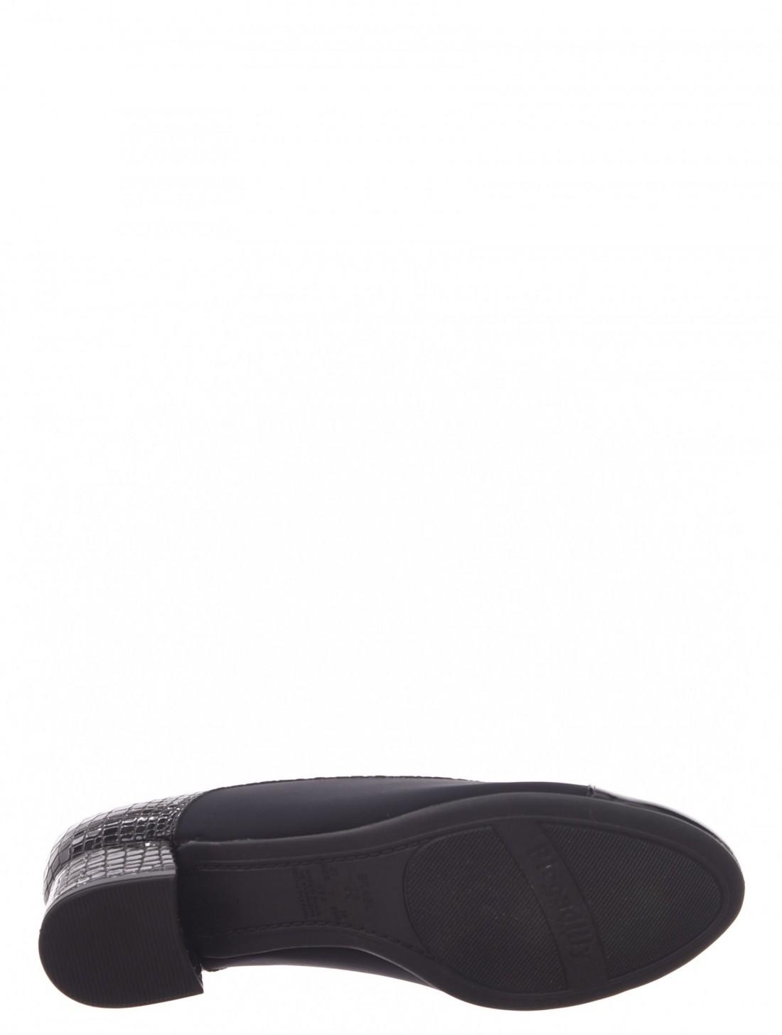 7ecb0c4132 ... Sapato Piccadilly Com Protetor para Joanete Detalhe Verniz Croco Preto  ...