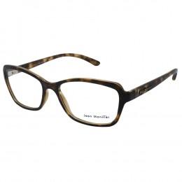 a983f6d0f5e60 Óculos de Grau Jean Monnier Quadrado Acetato Tartaruga Aro Fechado Sem  Plaquetas 0j83155e35252