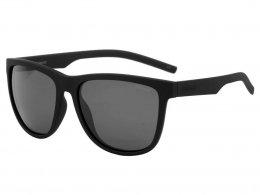 5c08885e0ba07 Óculos de Sol Polaroid Quadrado Armação Acetato Preta Lente Preta Comum Sem Plaquetas  pld 6014