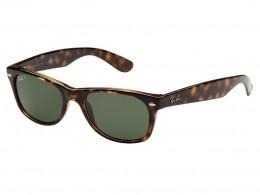 Óculos de Sol Ray-Ban Wayfarer Armação Acetato Tartaruga Lente Preta Comum  Sem Plaquetas 0rb2132902 e0bff670a9