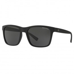 Óculos de Sol Armani Exchange Quadrado Armação Acetato Preta Lente Preta Comum  Sem Plaquetas 0ax4063sl 81828757 d5929fe22e