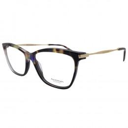 03976b1fc11d2 Óculos de Grau Ana Hickmann Gatinho Acetato Preta Aro Fechado Sem Plaquetas  ah6254 c02