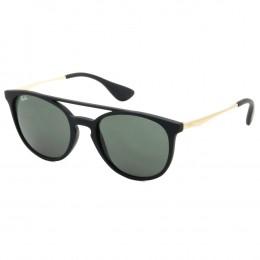 740b09a1d607f Óculos de Sol Ray-Ban Redondo Armação Plástico Preto Lente Verde Comum Sem  Plaquetas 0rb4289l