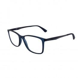 Óculos de Grau Ray-Ban Wayfarer Acetato Azul Aro Fechado Sem Plaquetas  0rx7133l 5679 55 274e65d87d