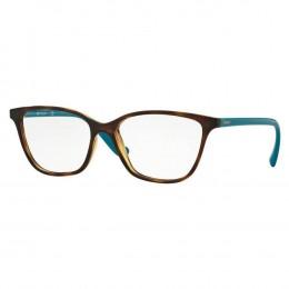 91875d598 Óculos de Grau Vogue Gatinho Acetato Tartaruga Aro Fechado Sem Plaquetas  0vo5029l 2393 54
