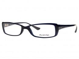 Óculos de Grau Platini Retangular Acetato Azul Aro Fechado Sem Plaquetas  0p93117 d772 52 f5d40b3244