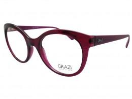 Óculos de Grau Grazi Massafera Gatinho Acetato Roxa Aro Fechado Sem  Plaquetas 0gz3011d81552 a6b349b165