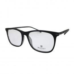 ae63cb25c Óculos de Grau Bulget Quadrado Acetato Preta Aro Fechado Sem Plaquetas  bg6255 a01